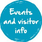 Event and Visitor Button Blue