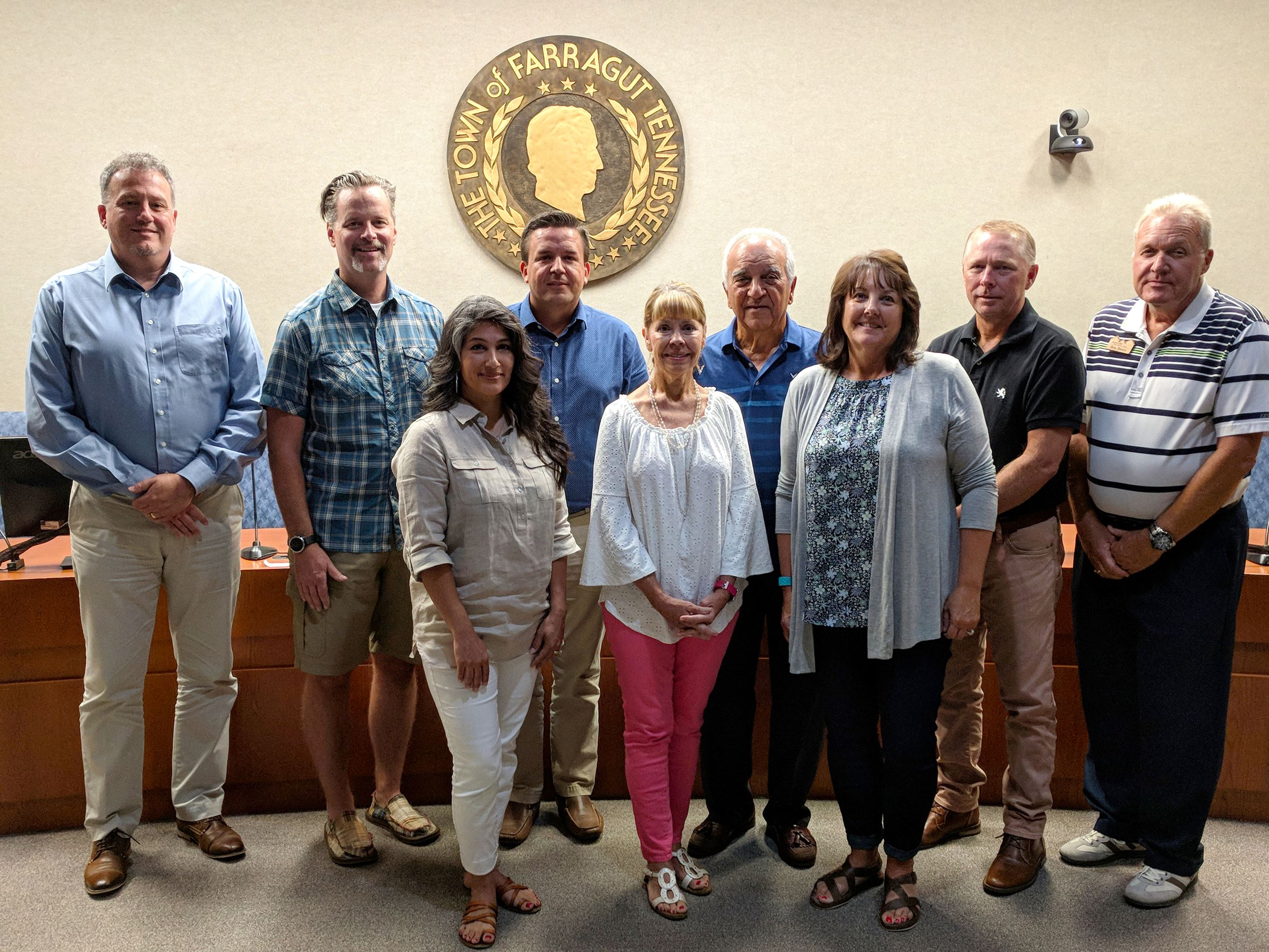 Parks & Athletics Council members