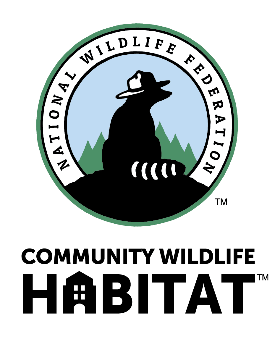 national wildlife federation logo. A raccoon encircled with words